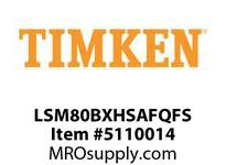 TIMKEN LSM80BXHSAFQFS Split CRB Housed Unit Assembly