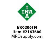 INA BK0306TN Drawn cup needle bearing