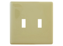 HBL_WDK NPS2I 1ALLPLATE 2G TOG SNAP-ON IVORY