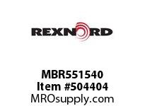 MBR551540 FLANGE CARTRIDGE BLK W/HD 136168