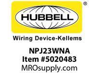 HBL_WDK NPJ23WNA WLPLT M-SIZE 2-G 2 BOX MT BLANK WHITE