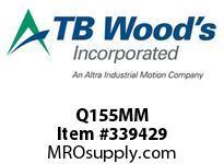 TBWOODS Q155MM Q1X55MM ST BUSHING