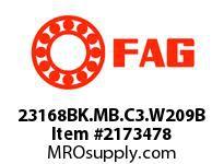FAG 23168BK.MB.C3.W209B DOUBLE ROW SPHERICAL ROLLER BEARING