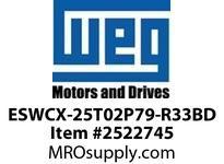 WEG ESWCX-25T02P79-R33BD XP FVNR 15HP/460 N79 230/120V Panels