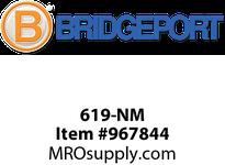 "Bridgeport 619-NM 1/2"" PLASTIC connector"