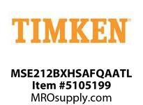TIMKEN MSE212BXHSAFQAATL Split CRB Housed Unit Assembly