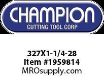 Champion 327X1-1/4-28 CARBON ROUND DIE STOCK ADJ