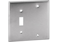 Orbit OS113 2-G STAINLESS COVER - 1 SWITCH/BLANK