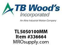 TBWOODS TL5050100MM TL5050X100MM TL BUSHING