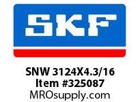 SKF-Bearing SNW 3124X4.3/16