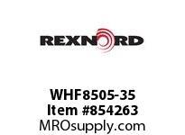 REXNORD WHF8505-35 WHF8505-35 WHF8505 35 INCH WIDE RUBBERTOP MATT
