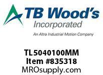 TBWOODS TL5040100MM TL5040X100MM TL BUSHING