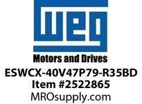 WEG ESWCX-40V47P79-R35BD XP FVNR 25HP/460 N79 460V Panels