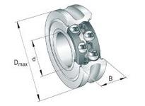 INA LFR5204-16KDD Yoke type track roller
