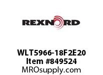 REXNORD WLT5966-18F2E20 WLT5966-18 F2 T20P N2 WLT5966 18 INCH WIDE MATTOP CHAIN W