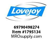 LoveJoy 69790498274 SLD 1750 IN 4-15/16
