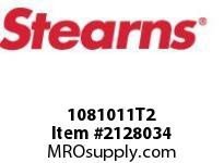 STEARNS 1081011T2 LF BRAKE ASSY-INT-LESS HUB 8026100