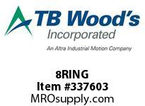 TBWOODS 8RING WIRE RING 8 SF