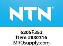 NTN 6205F353 Extra Small/Small Ball Bearing