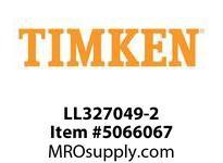 TIMKEN LL327049-2 TRB Single Cone 4-8 OD