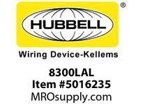 HBL_WDK 8300LAL HUBBELL-PRO HG DPLX 20A/125V LED LA