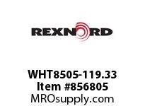 REXNORD WHT8505-119.33 WHT8505-119.33 WHT8505-119.33^ MATTOP CHAIN