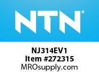 NTN NJ314EV1 CYLINDRICAL ROLLER BRG