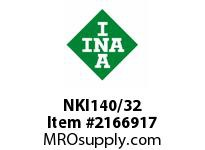 INA NKI140/32 Precision needle bearing