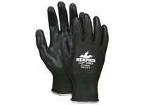 MCR 92733PUXXL Memphis Cut Pro 10 gauge Black HPPE/Synthetic Shell Black PU Palm/Fingers ANSI Cut 3
