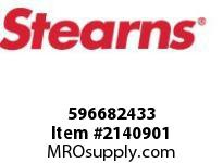 STEARNS 596682433 KIT-#8 INJ COIL 200 VAC 8034495