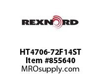 REXNORD HT4706-72F14ST HT4706-72 F1 T4P STAG SP CONTACT PLANT FOR ACCURATE DESCRIPT