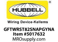 HBL_WDK GFTWRST82SNAPGYNA 15A COM ST TRWR HG SNAP GFR USA GRAY