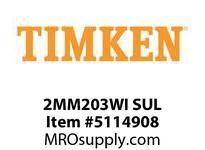 TIMKEN 2MM203WI SUL Ball P4S Super Precision