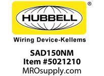HBL_WDK SAD150NM PS L/T NM ADAPT 1 1/2^ HUB NM