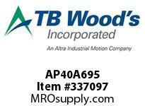 TBWOODS AP40A695 AP40 X 6.95 SPACER ASSY CL A