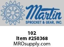 Martin Sprocket 102 HUB DETACHABLE SOLID
