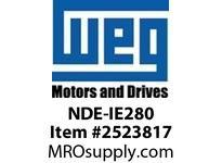 WEG NDE-IE280 NON-DRIVE ENDSHIELD IEEE841 28 Integrals