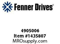 Fenner Drives 4905006 Red 85 1/8""