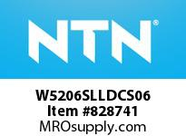 NTN W5206SLLDCS06 Double Row Angular Contact Bal