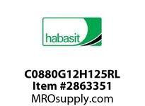 "Habasit C0880G12H125RL 880-12T X 1-1/4"" Split Idler Sprocket"