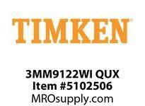 TIMKEN 3MM9122WI QUX Ball P4S Super Precision