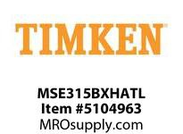 TIMKEN MSE315BXHATL Split CRB Housed Unit Assembly