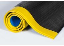 """Crown WBR0048YD-75 520 - Wear-Bond Tuff-Spun 9/16"""" Diamond 4 x 75 Black/Yellow"""