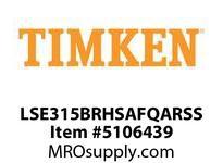 TIMKEN LSE315BRHSAFQARSS Split CRB Housed Unit Assembly