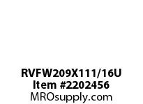 PTI RVFW209X111/16U PILOTED 4-BOLT FLANGE BEARING-1-11/ RVFW 200 GOLD SERIES - NORMAL DUTY