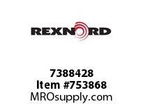 REXNORD 7388428 7300678 40 HSB 2.6875 BORE