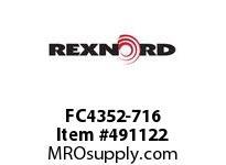 FC4352-716 FLANG BLK FC4352-716 5805380