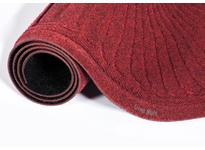 Crown S4 F410RD 254 - Super-Soaker Fan 2-End Standard Color Fabric Edging 45^ x 165^ (4 x 13.7) Red