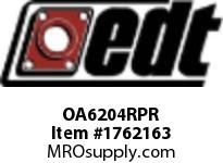 EDT OA6204RPR RADIAL POLY-ROUND(R) 6204