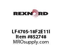 REXNORD LF4705-18F2E11I LF4705-18 F2 T11P